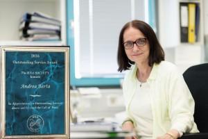 RNA Society Award 2016 to Andrea Barta